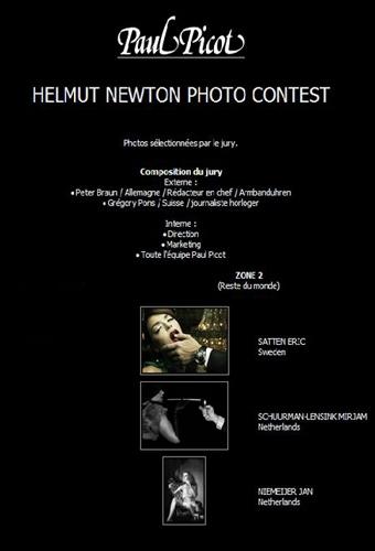 Paul Picot Helmut Newton-Contest 3e prize - Jan Niemeijer
